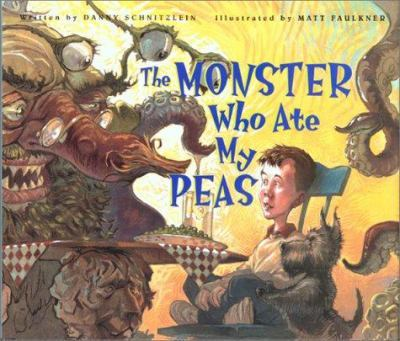 The Monster Who Ate My Peas book