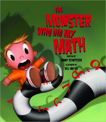 The Monster Who Did My Math book