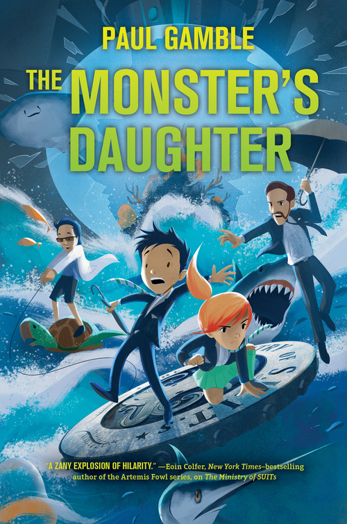 The Monster's Daughter: Book 2 of the Ministry of SUITs book