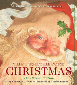 The Night Before Christmas Oversized Padded Board Book Book
