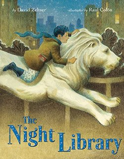 The Night Library book