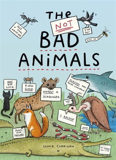 The Not BAD Animals book