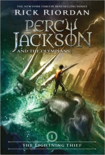 The Percy Jackson and the Olympians: Lightning Thief book