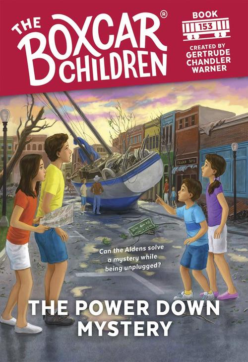 The Power Down Mystery book
