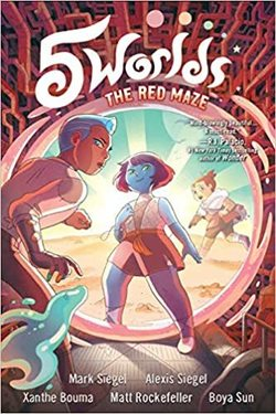 The Red Maze book