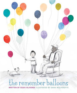 The Remember Balloons book
