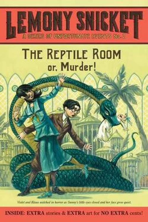 The Reptile Room: Or, Murder! book