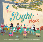 The Right Place book