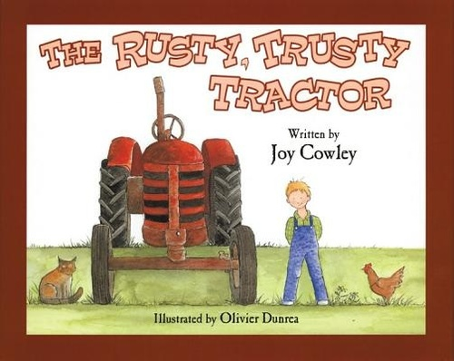 The Rusty, Trusty Tractor book