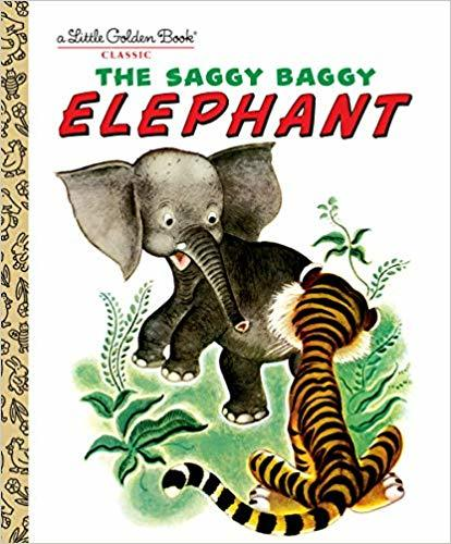 The Saggy Baggy Elephant book