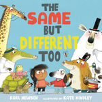 The Same But Different Too book