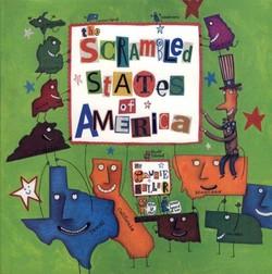 The Scrambled States of America Book
