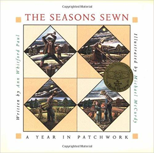 The Seasons Sewn: A Year in Patchwork book