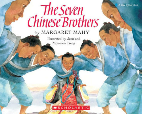 The Seven Chinese Brothers book