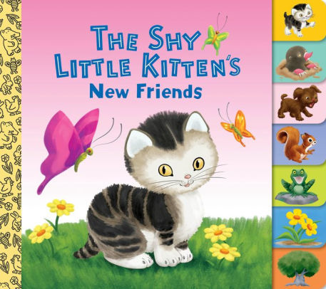 The Shy Little Kitten's New Friends book