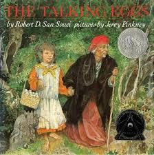 The Talking Eggs book