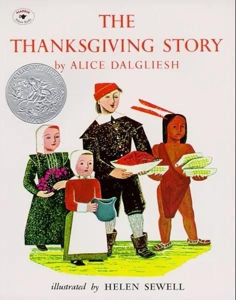 The Thanksgiving Story book