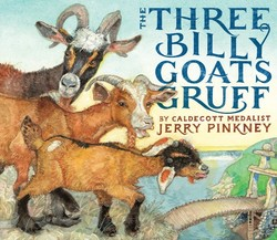 The Three Billy Goats Gruff book