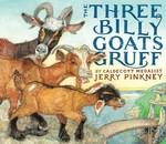 The Three Billy Goats Gruff book