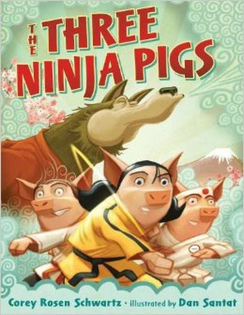 The Three Ninja Pigs book