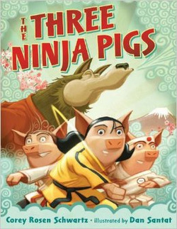 The Three Ninja Pigs book