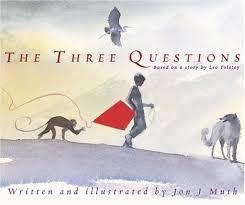 The Three Questions book