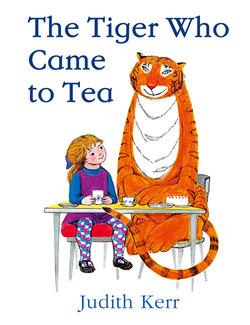 The Tiger who Came to Tea book