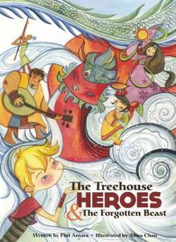 The Treehouse Heroes and the Forgotten Beast book
