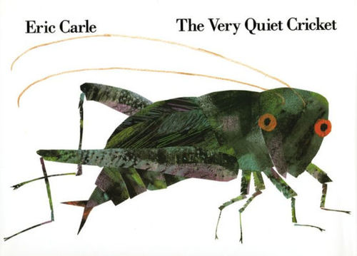 The Very Quiet Cricket book