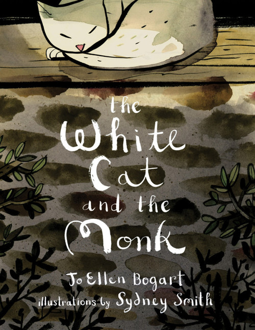 """The White Cat and the Monk: A Retelling of the Poem """"Pangur Bán"""" book"""