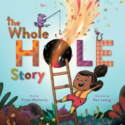 The Whole Hole Story book