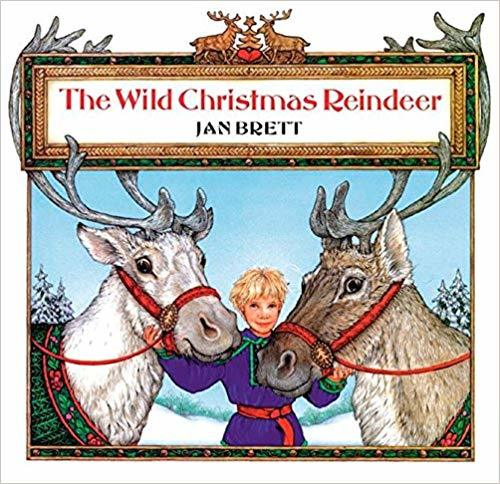 The Wild Christmas Reindeer book