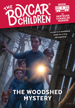 The Woodshed Mystery book