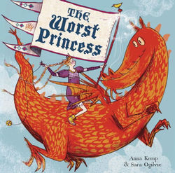 The Worst Princess book