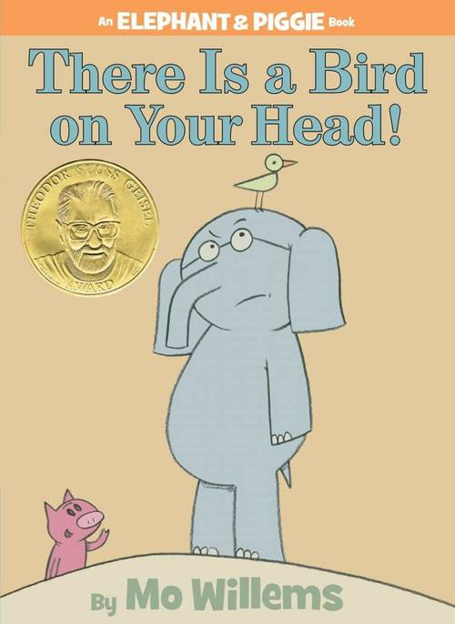 There is a Bird on Your Head! book