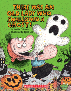There Was an Old Lady Who Swallowed a Ghost! book