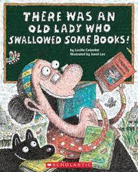 There Was an Old Lady Who Swallowed Some Books! book
