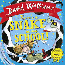 There's a Snake in My School! book