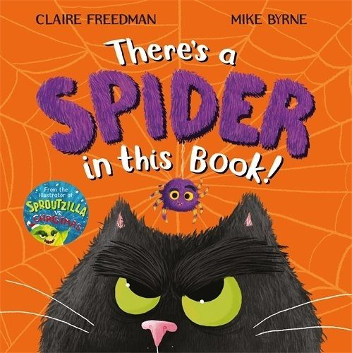 There's a Spider in This Book book