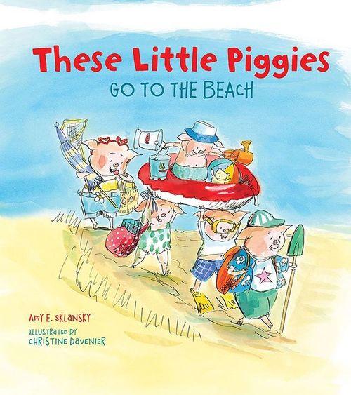 These Little Piggies Go to the Beach book