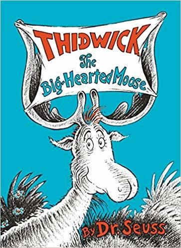 Thidwick the Big-Hearted Moose book
