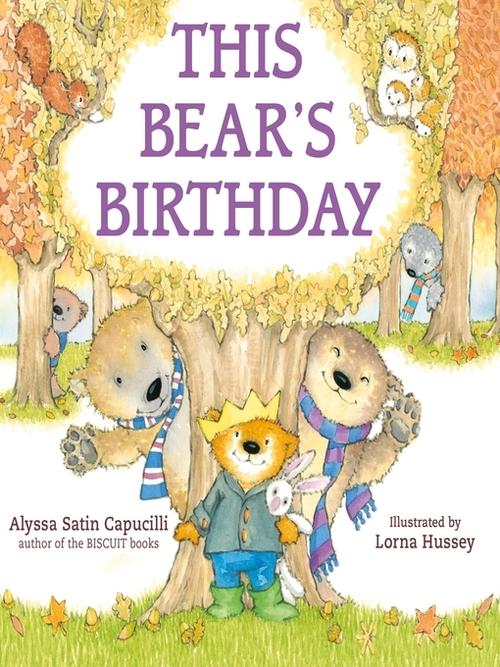 This Bear's Birthday book
