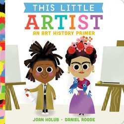 This Little Artist book