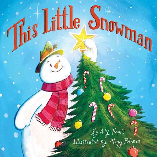 This Little Snowman book
