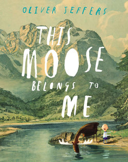 This Moose Belongs to Me book