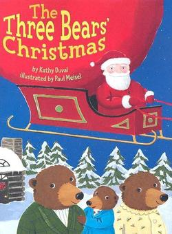 Three Bears' Christmas book