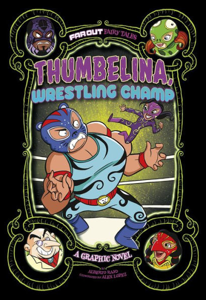 Thumbelina, Wrestling Champ book