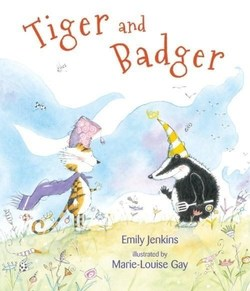 Tiger and Badger book