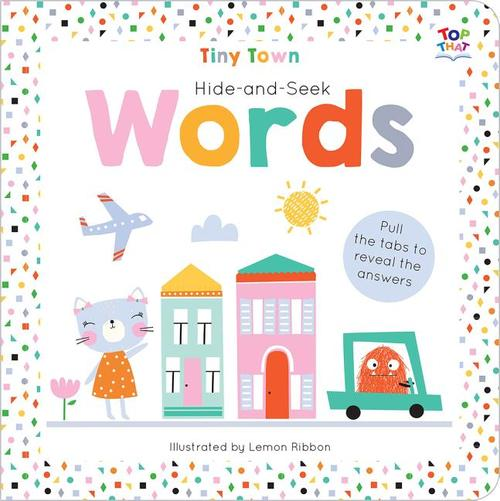Tiny Town Hide and Seek Words book