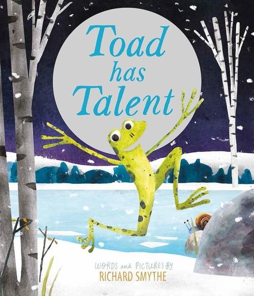 Toad Has Talent book